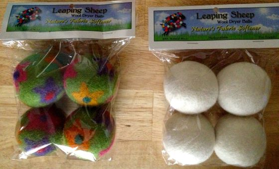 New in package Leaping Sheep Dryer Balls